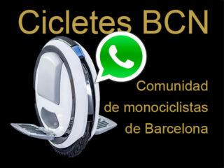 comunidad-monociclistas-barcelona-grupo-whatsapp-monociclos-electricos-ninebot-one-cicletes-BCN